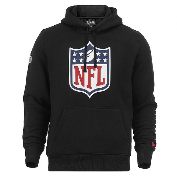 mikina NEW ERA NFL Team Logo Po Hood Blk