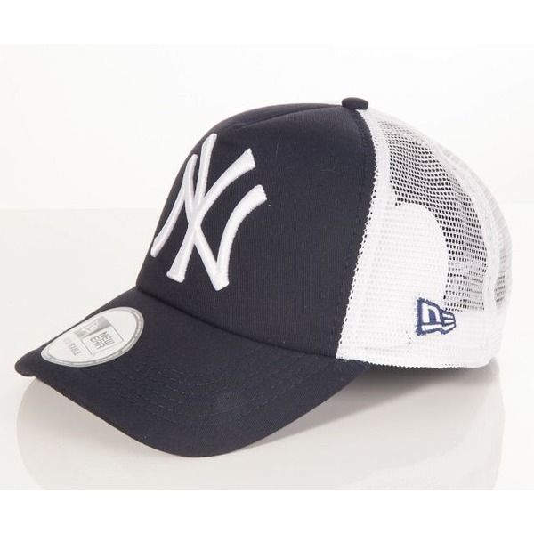 30bdc03de55 Kšiltovka New Era Trucker Mlb Clean New York Yankees Navy White ...