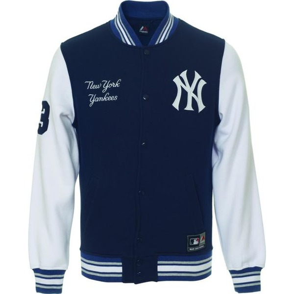 bunda MAJESTIC HARTMEN FLEECE LETTERMAN JACKET NEYYAN