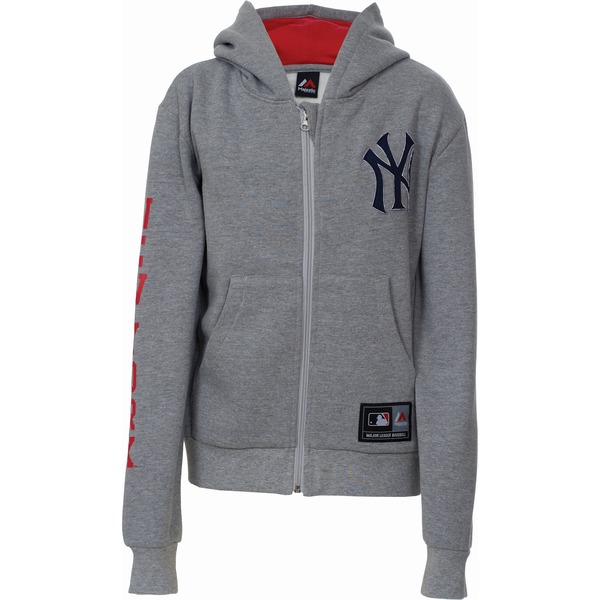 mikina MAJESTIC YOUTHS SMALL LOGO ZIP HOODY NEYYAN
