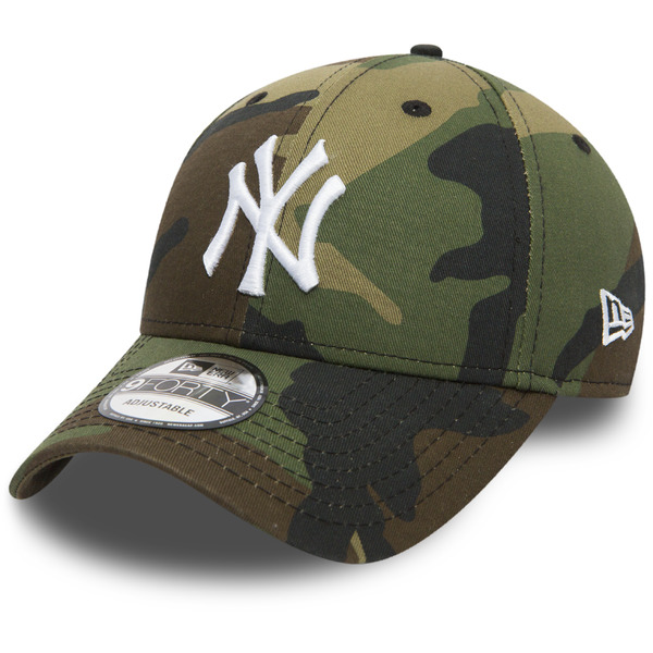 kšiltovka NEW ERA 940 League Essential New York Yankees wood camo ... f81b0cfe7e