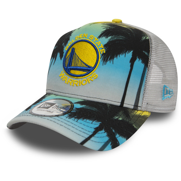 kšiltovka NEW ERA 940 NBA Af trucker coastal heat trck GOLWAR