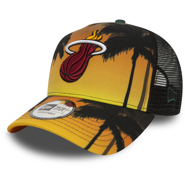 kšiltovka NEW ERA 940 NBA Af trucker coastal heat trck MIAHEA