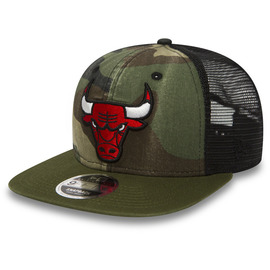 kšiltovka NEW ERA 950 NBA trucker washd camo snp CHIBUL