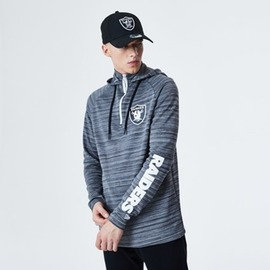 mikina NEW ERA NFL Engineered half zip hoody OAKRAI
